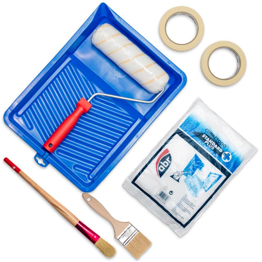 Kit de herramientas de pintor profesional
